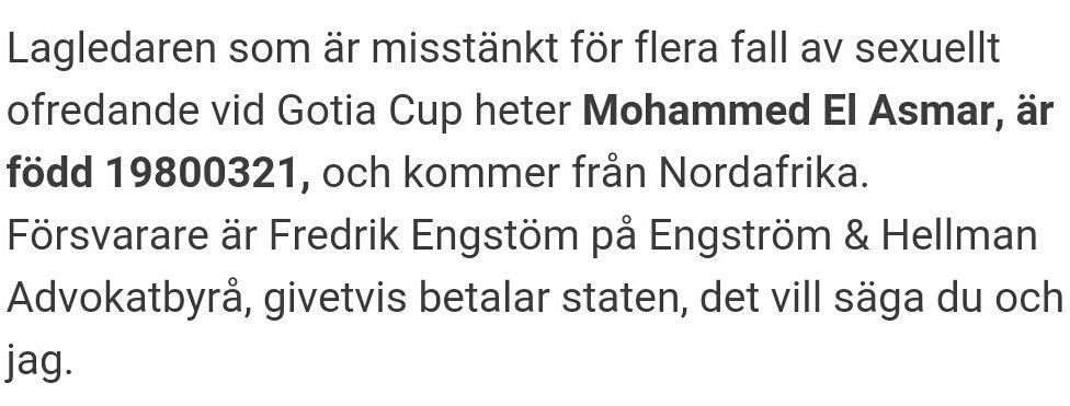 Misstänkt Gothia Cup